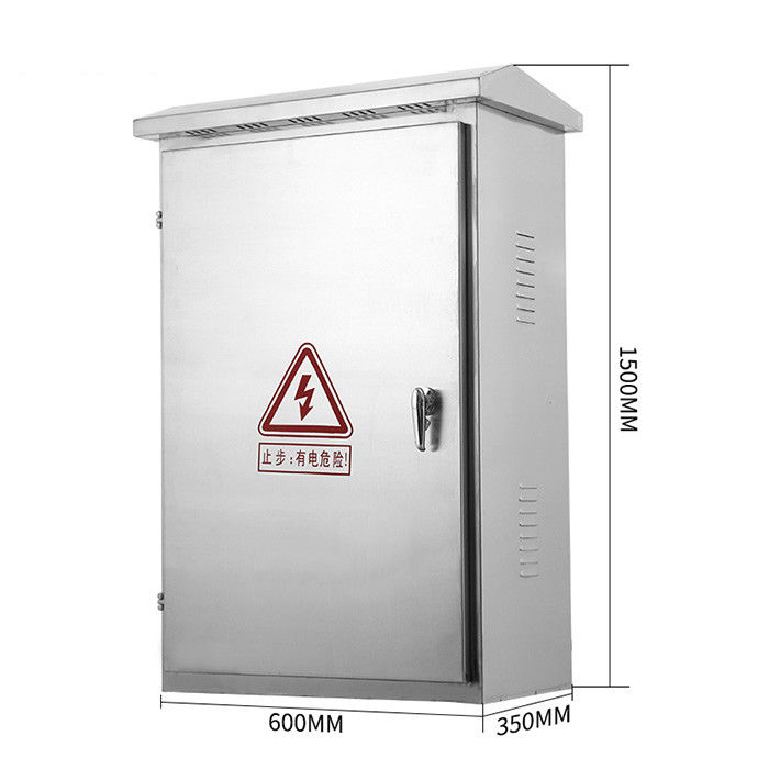 304 Stainless Steel Weatherproof Distribution Box Wall Mounted Floor Standing Metal Junction Box